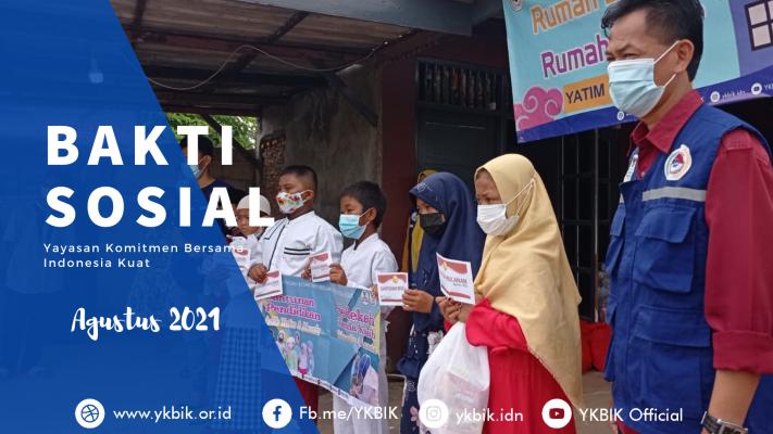 Bakti Sosial YKBIK Agustus 2021